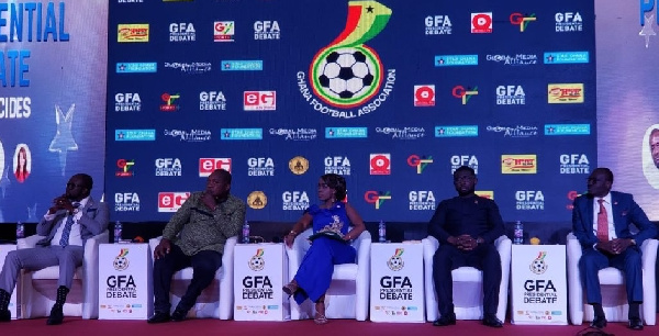 The GFA presidential aspirants