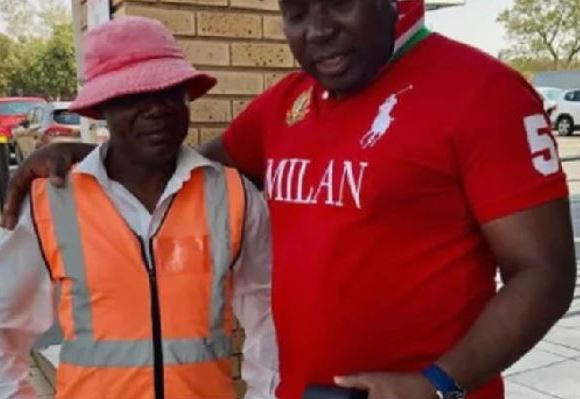 The man from Congo is currently residing in South Africa