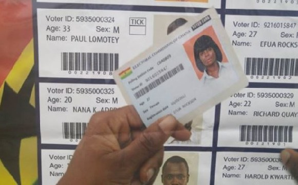 Voter ID card voting