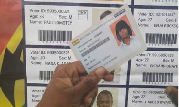 Voter ID card voting, Ghana Political News Report Articles
