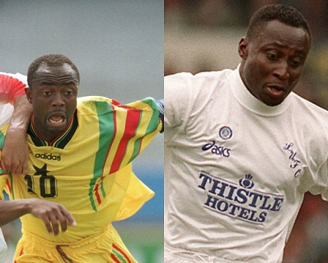 Abedi Pele and Anthony Yeboah