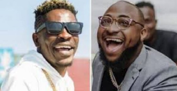 Dancehall artiste, Shatta Wale and Davido