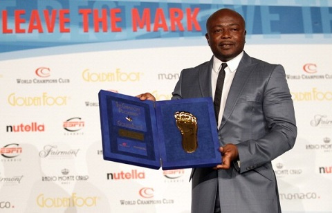Three-time African Player of the year, Abedi Pele