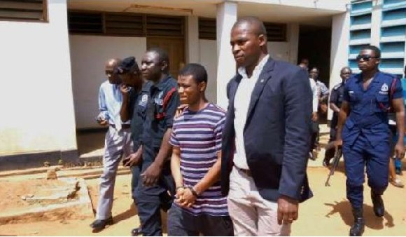Asiedu aka Sexy Dondon allegedly attempted to stab a senior Prison officer