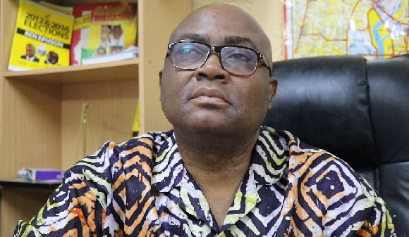 Ben Ephson Managing Editor of the Daily Dispatch Newspaper