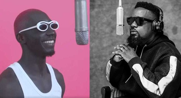 Bosom P-Yung with Sarkodie