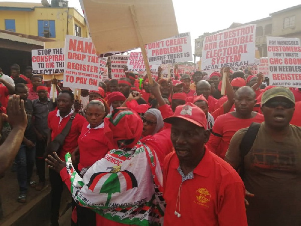 The group is set to picket at the offices of the EC in the Upper East, Ghana Political News Report Articles