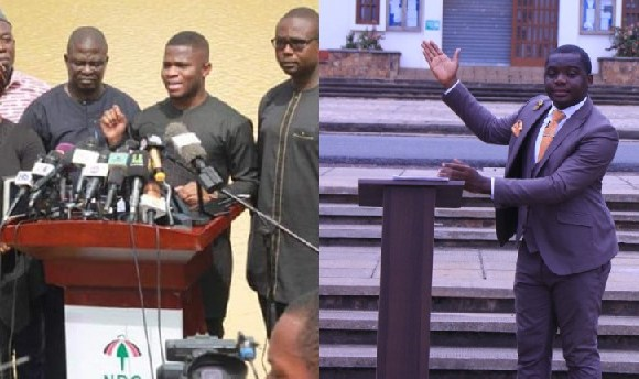 NDC executives used the style of Irbard Ibrahim in their press conference