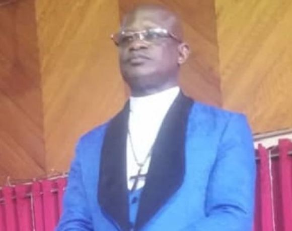 Very Rev Dr. Samuel Adubortey Nkatia, superintendent minister in charge Dunwell Methodist, Kumasi