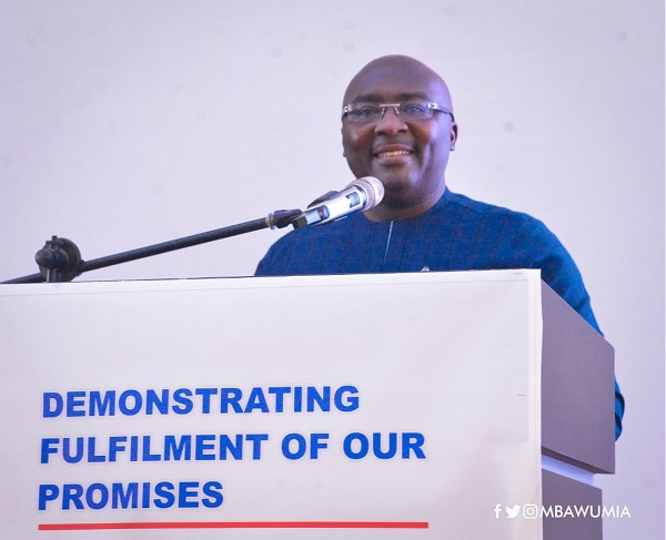 Vice President, Dr. Mahamudu Bawumia, Ghana Political News Report Articles
