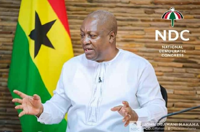 John Mahama address