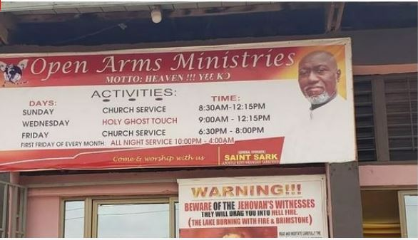 open arms ministries
