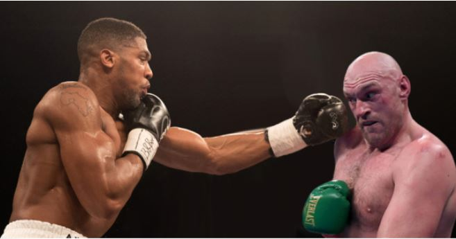 Anthony Joshua and Tyson Fury jpg