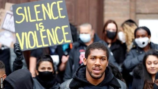 Anthony Joshua fight for justice