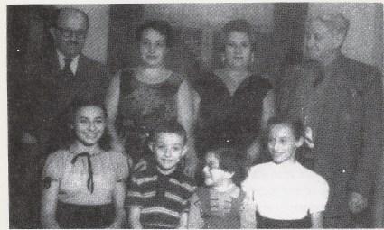 La familia Czerniak en Israel, 1956