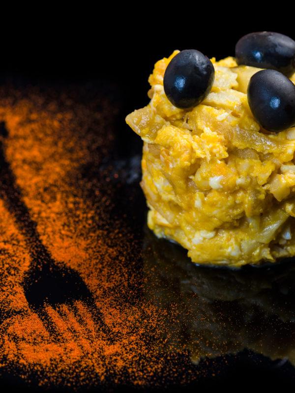 Fotografía de producto gastronómico para restaurante Petiscos