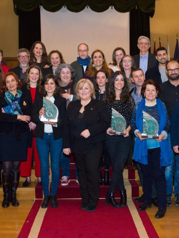 Fotografía de grupo IV Premio estatal do traballo Social-Pazo de Fonseca-Santiago de Compostela