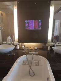 Bathroom at the Shangri-La Hotel