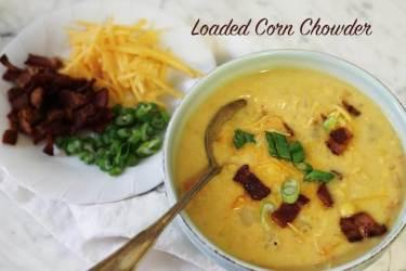 Loaded Corn Chowder