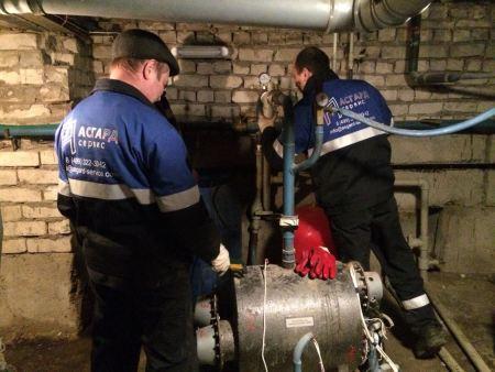 Проведение наладочных работ тепловых сетей специалистами компании АСГАРД