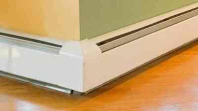 Устройство системы плинтусного отопления