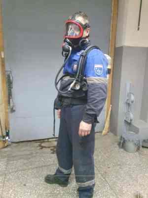 Сотрудники «АСГАРД-Сервис» прошли обучение принципам применения индивидуальных дыхательных аппаратов