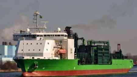 Строительство «Северного потока-2» продолжит голландское судно