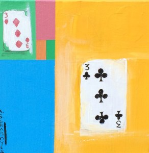 fibonacci, playing cards