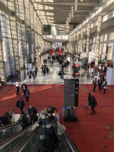 exhibition hallway, 59th American Society of Hematology annual meeting, ASH 2017
