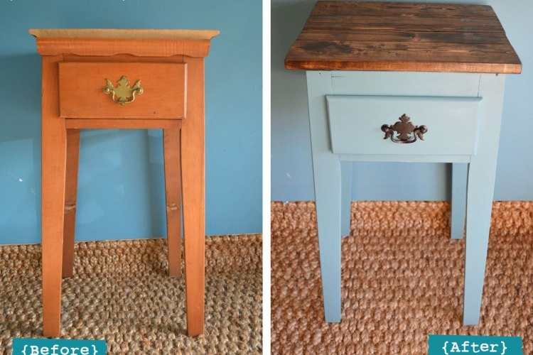 Before+After: Mini Table