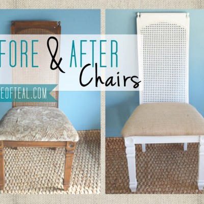 Before+After: Chairs