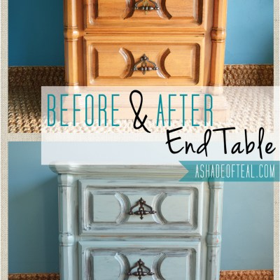 Before+After: End Table