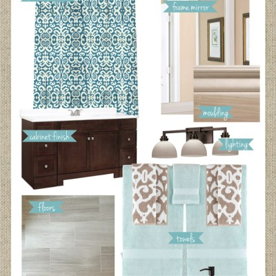 Master Bath Redo; Mood Board