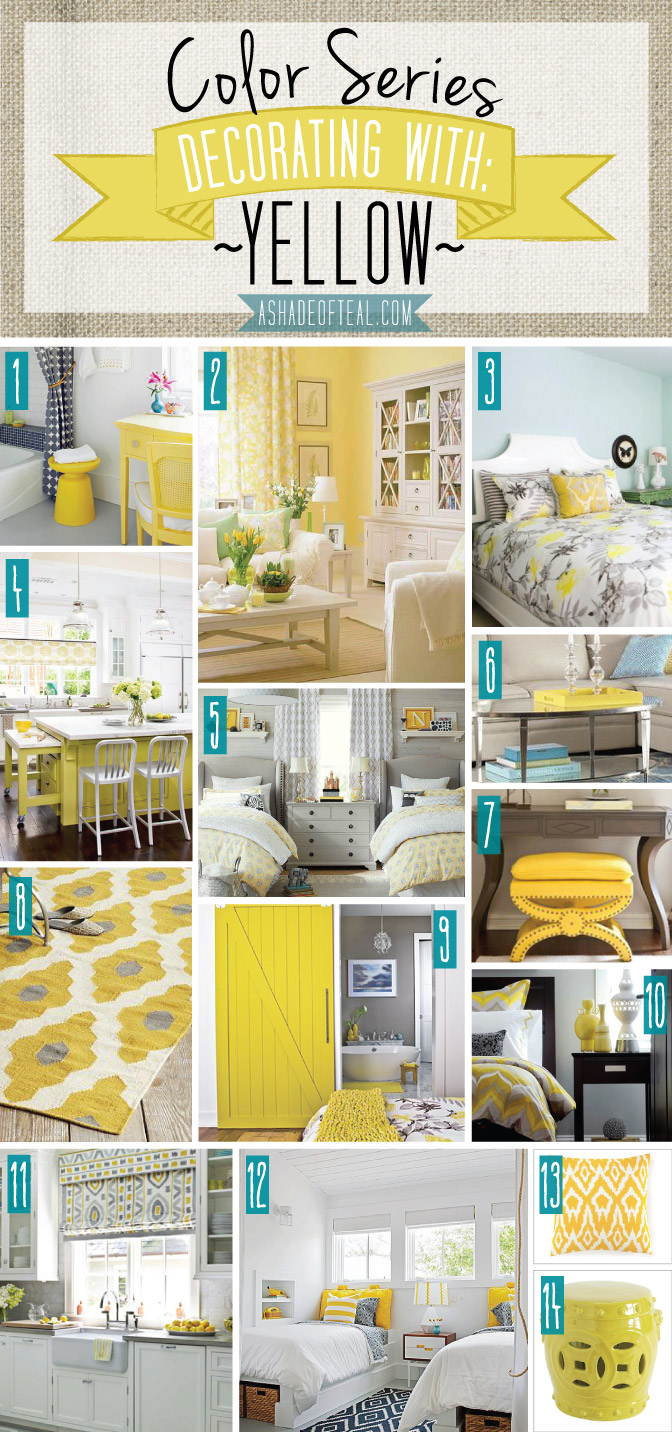 Teal and mustard living room