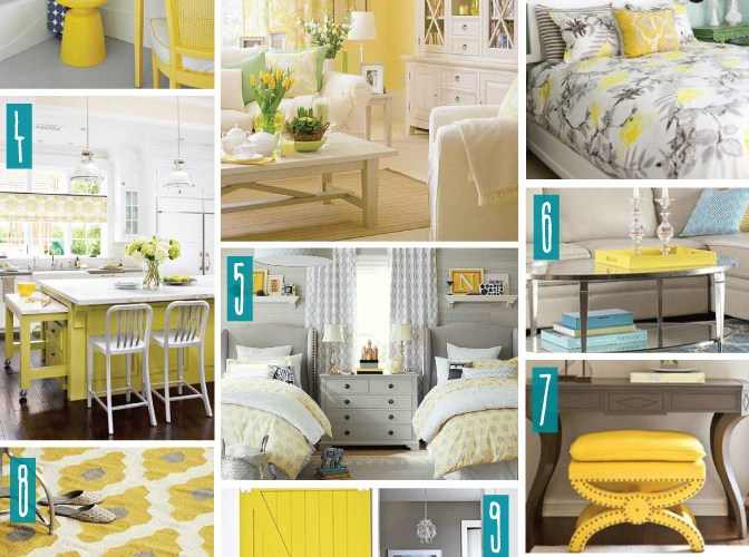 Color Series; Decorating with Yellow