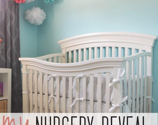Nursery Reveal {Part 2}