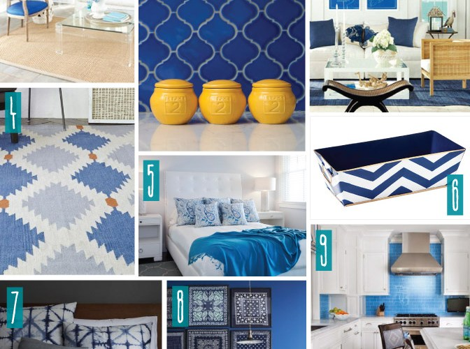 Color Series; Decorating with Royal