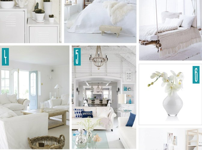 Color Series; Decorating with White