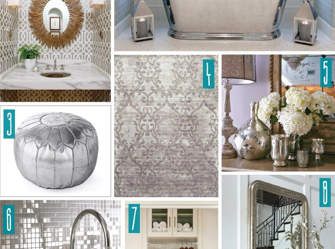 Color Series; Decorating with Silver
