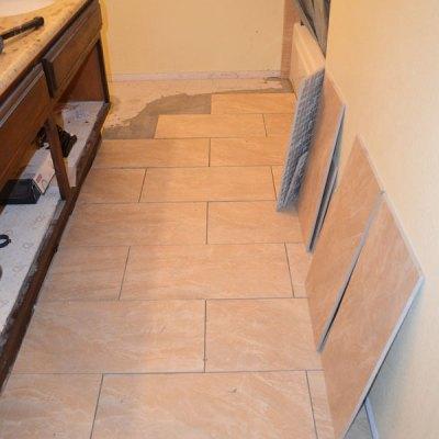 Hall Bath Chronicles- Tile Floor Pt2
