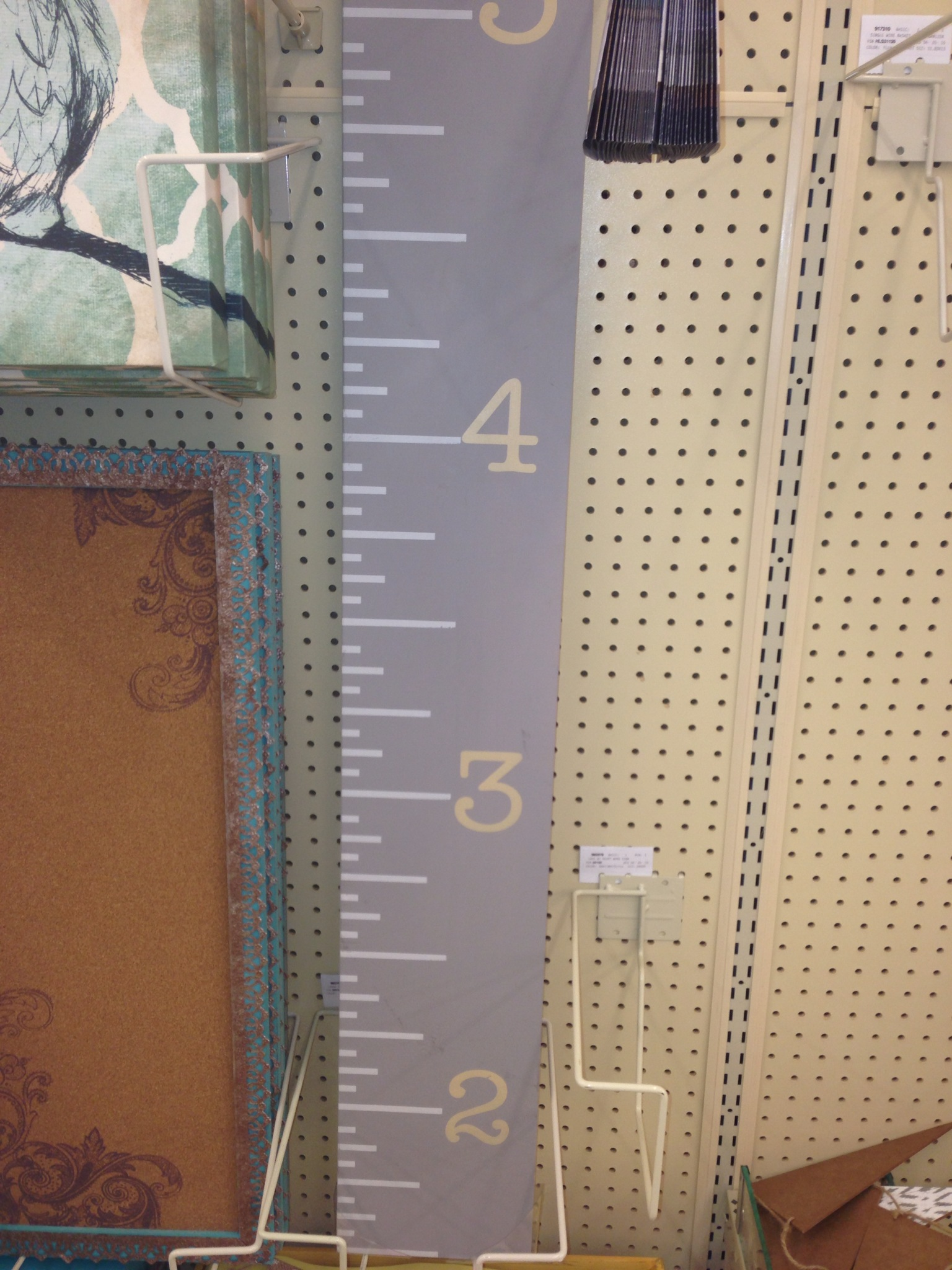 Diy large wooden ruler growth chart it kicked my diy lull into gear since ive been wanting to find something to start marking my daughters height as she grows it also needed to be something nvjuhfo Gallery