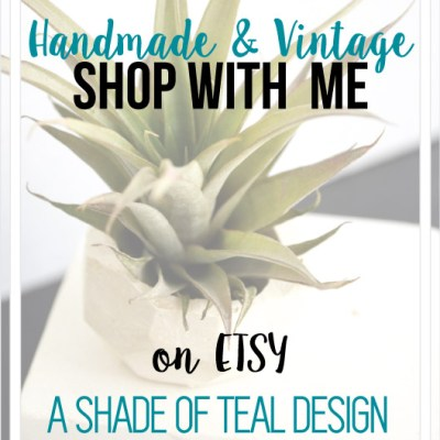 A Shade Of Teal Design, ETSY Shop Launch