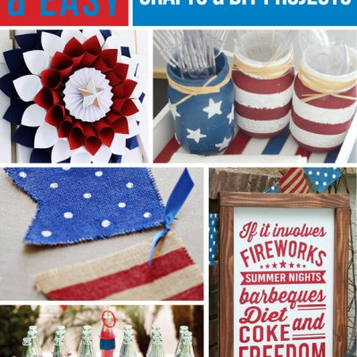 12 Fun & Easy 4th of July DIY Projects