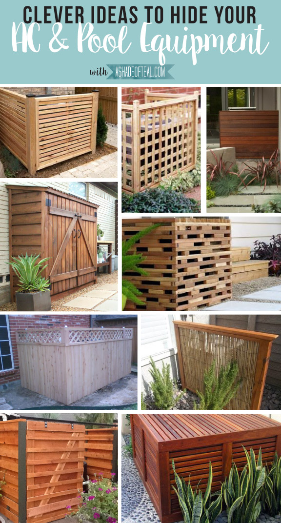 pump hide enclosures neat sheds create pool hedges filter shed with to and fence contemporary of how inside options lattice a equipment
