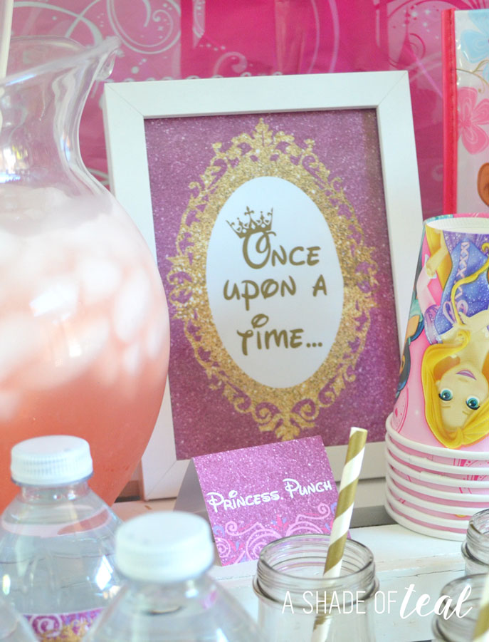 A Disney Princess Party On A Budget Plus Free Printables
