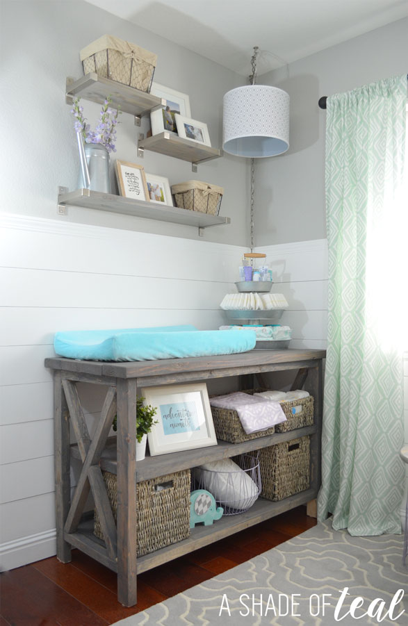 Rustic Glam Nursery One Room Challenge The Reveal
