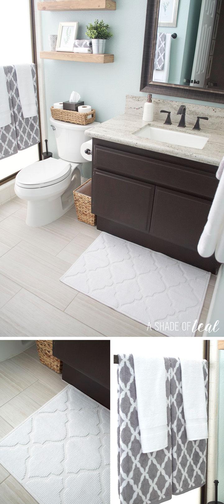 Quick & Easy Rustic Bathroom Refresh!