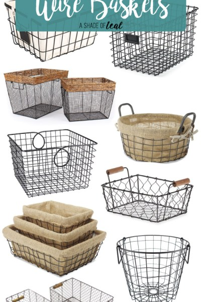 Where to find 13 Amazing Rustic Farmhouse Wire Baskets