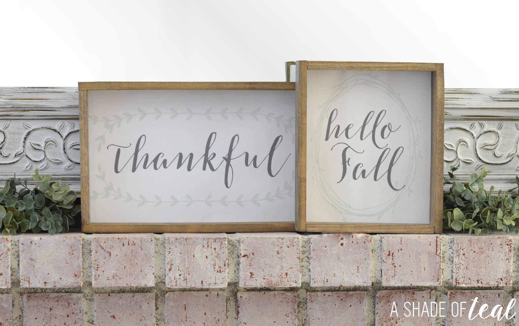 free printable rustic fall signs