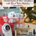 Baby's 1st Christmas Ornament & Gift Basket
